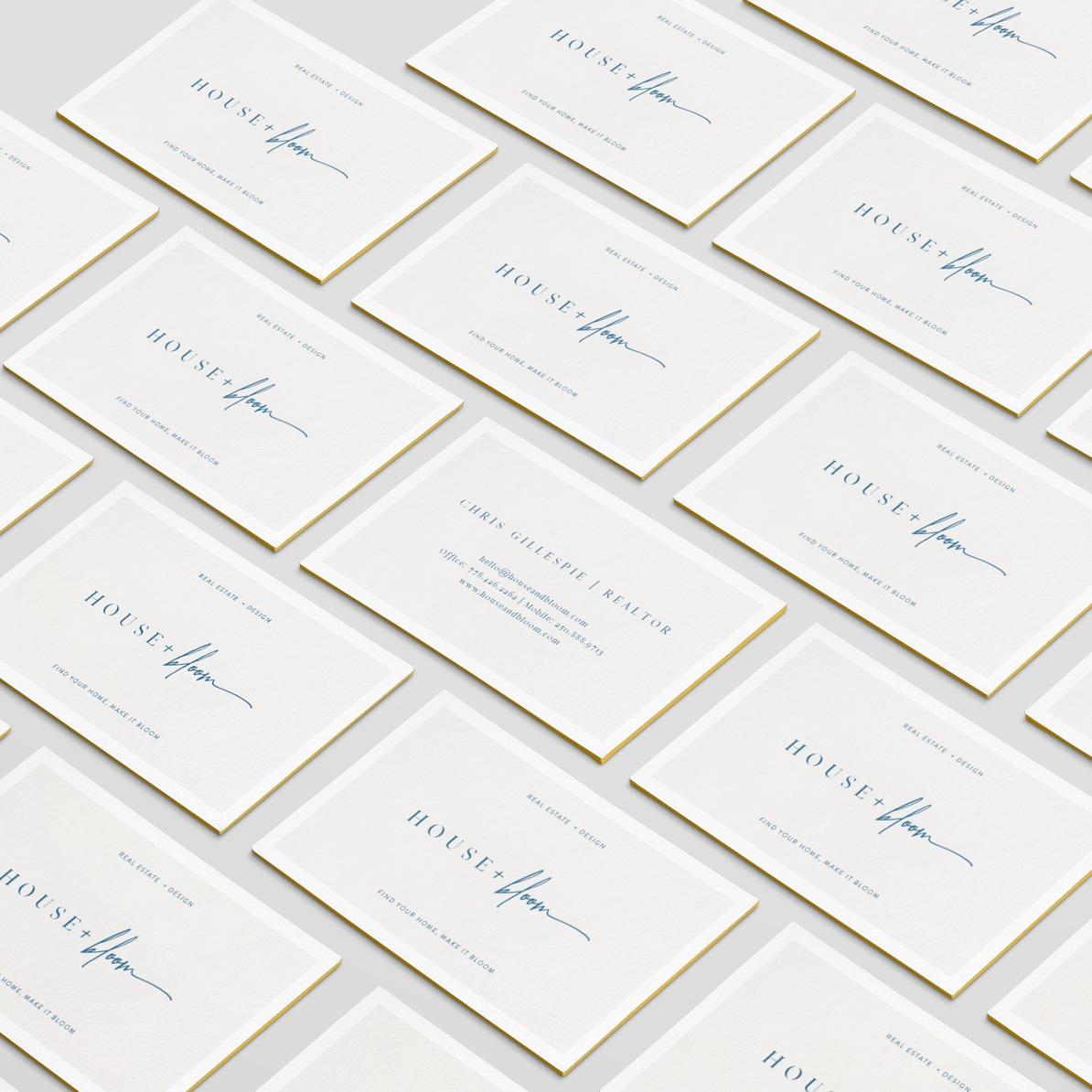 House + Bloom: Brand Identity, Print & Web