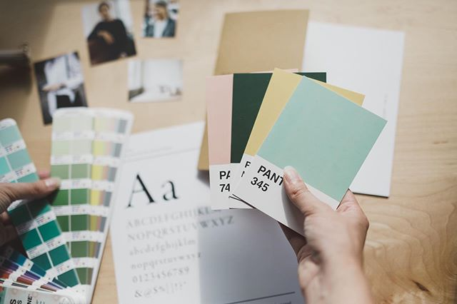 Colour evokes emotion, sets the tone and adds personality to a brand. So many factors are considered in order to find the right ones and then refine them for use. I love the moment in the creative process when you know that you've found the right ones because everything comes together and starts to sing.