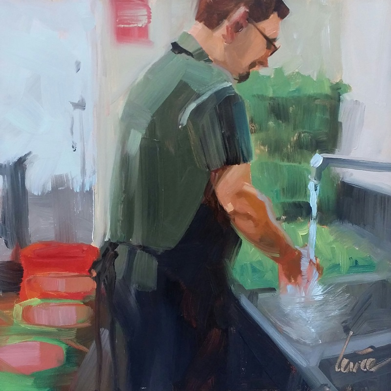 Baja Washing Up.jpg