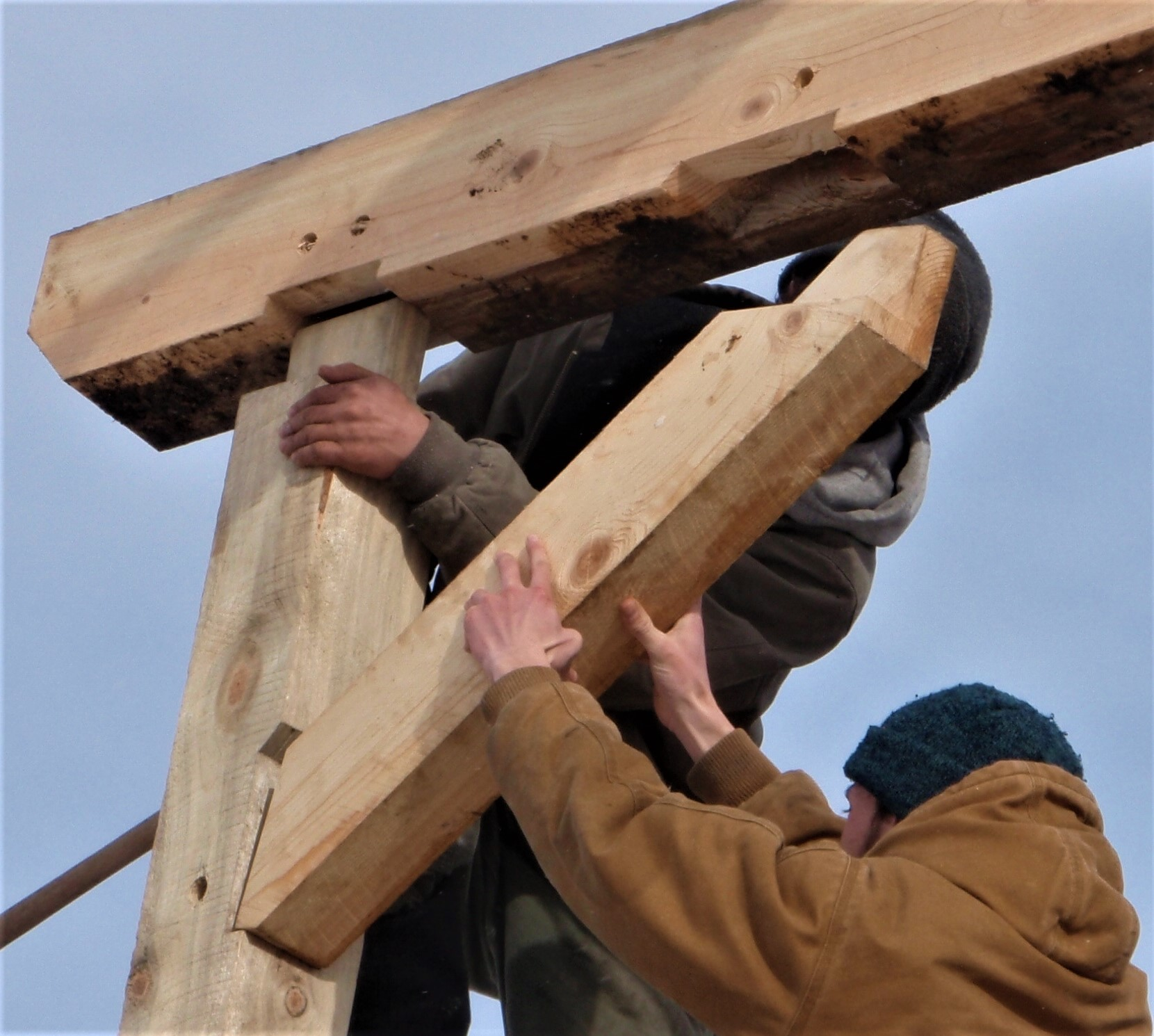 Intro To Traditional Timber Framing - May 2 & May 4, 2019Join us for a two part course that involves an evening lecture on May 2 at the Missoula Lifelong Learning Center and a hands on session May 4 on the northside at Bad Goat Forest Products.