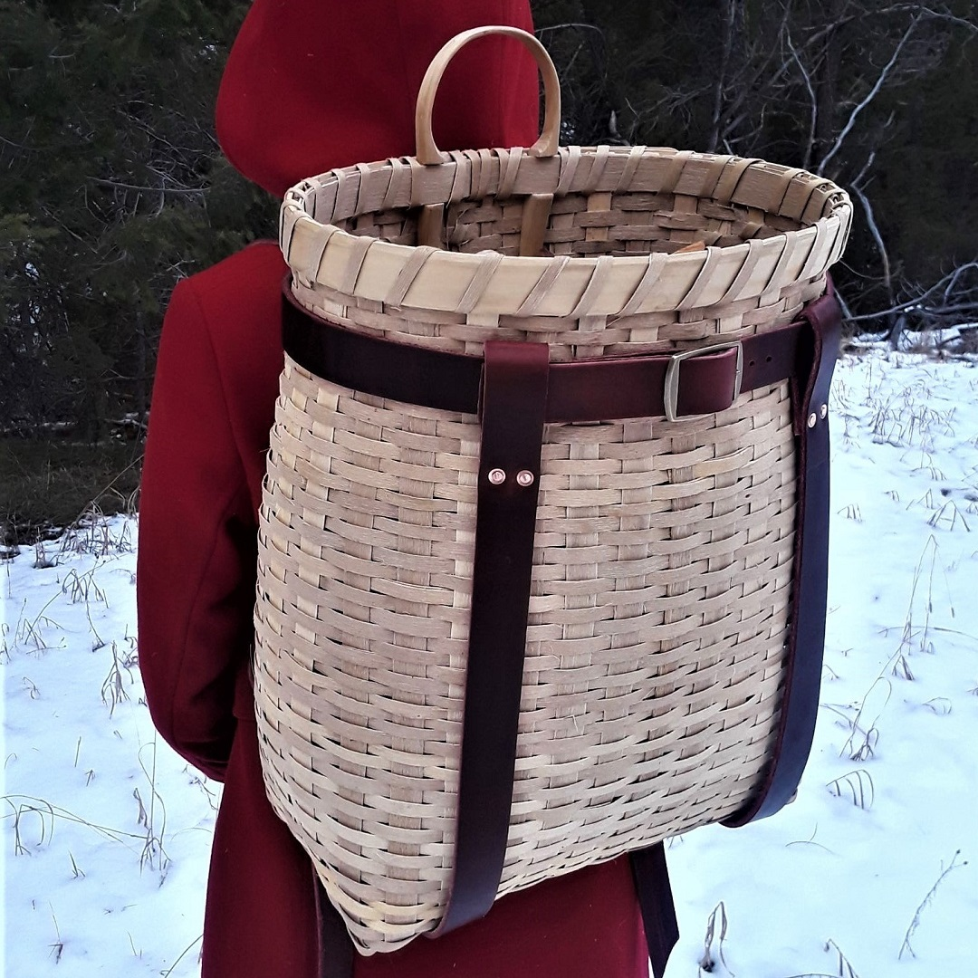 Black Ash Pack Basket Course - August 9-11, 2019 in Condon, MT at the Beck HomesteadParticipants will harvest basket materials straight from an ash log and use a free-form weaving technique to weave the basket. Then students will carve and bend basket runners, rim and handles. The pack baskets will be finished with leather straps that students will cut themselves and fasten with hand peened copper rivets.$300 course tuition* and $50 materials fee*Tuition includes lodging at the Beck HomesteadTo register contact Lindsay at 406.754.3137 or e-mail Lindsay@svconnections.org