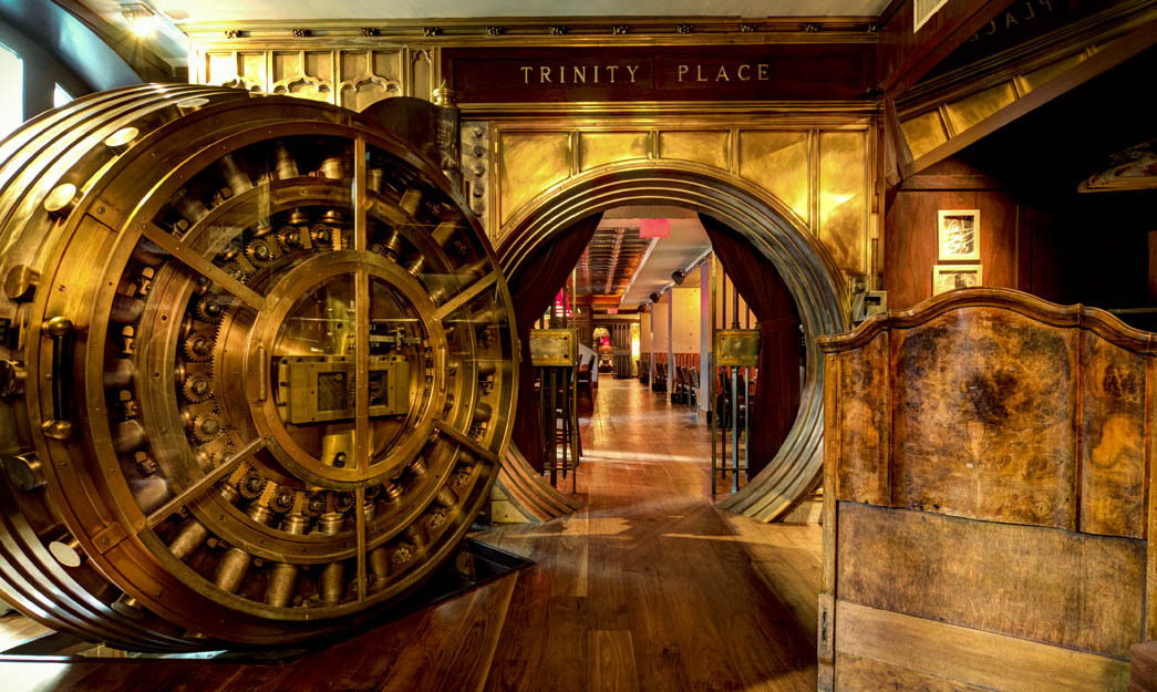 We rarely have an opportunity to invite our colleagues to as well-appointed an affair as  transpired on the evening of Sunday, Feb. 15, 2015 at Trinity Place in Lower Manhattan, a turn-of-the-century bank vault across the street from Zucotti Park.