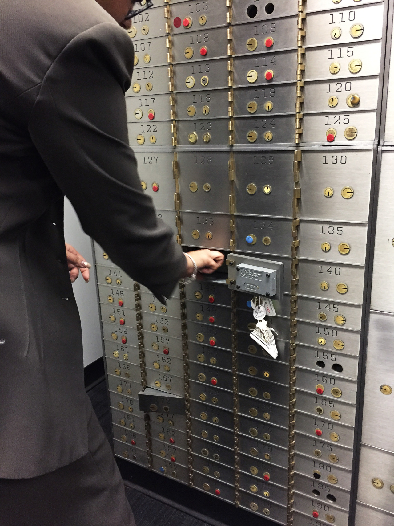 Meyohas sets aside an unframed archival chromogenic print in a bank vault, so that 25 square inches of photography backs every BitchCoin.  Once the print is locked in a vault, an equivalent number of BitchCoins—corresponding to the size of that BitchCoin-backed print—is then released into circulation.