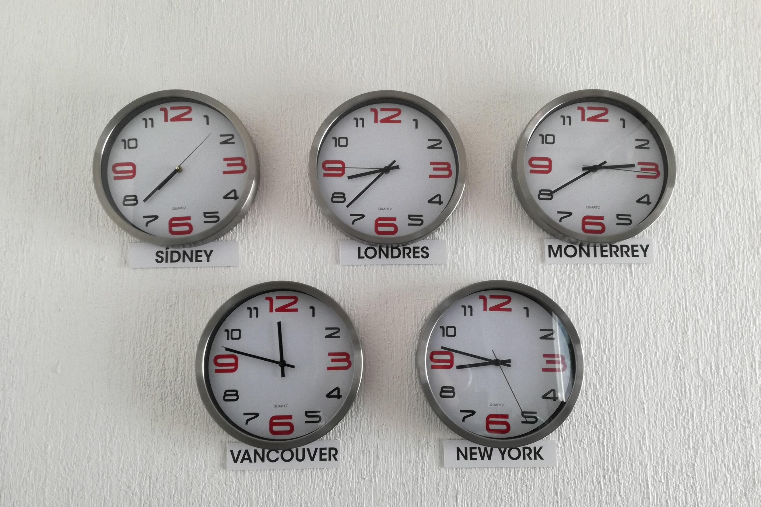 Time Zones -