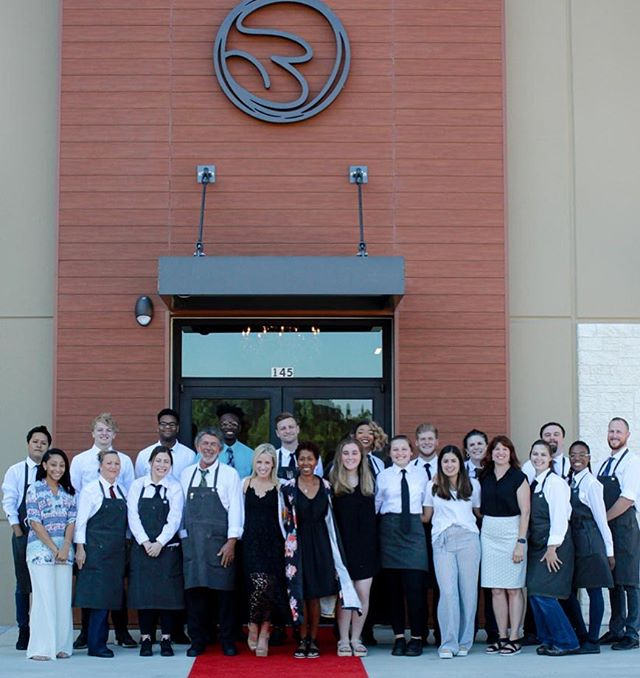 Our staff family is ready for opening day!  Thursday May 23rd our Grand Opening!  Don't miss our ribbon-cutting at 4 PM! #treluna #bhamfoodie #thisisbham #opentable #bhamrestaurants #dreamscometrue