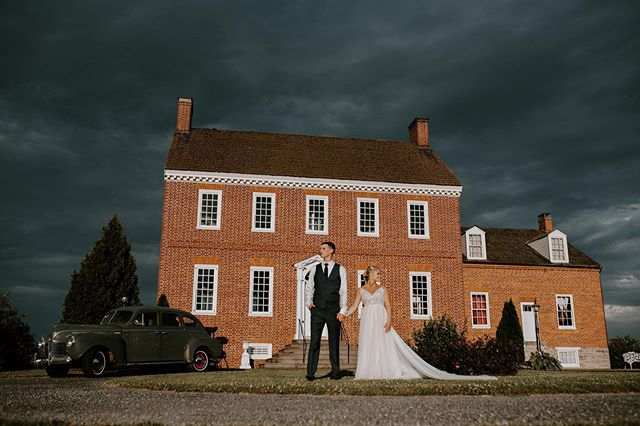 You see stormy skies... photographers see opportunity. Everything about this day, this couple, and this venue was perfect. Sending off this wedding album this weekend! Keep an eye on your mail this week, Marc & Molly.  The Team  DJ // Ryan Carr Florist // Tierra Blooms Sweet Treats // Gateau Monique Dress // Posh Bridal Video // Ohouse Films Second Shooter // Amanda Leiphart Photography Venue // Dulany's Overlook