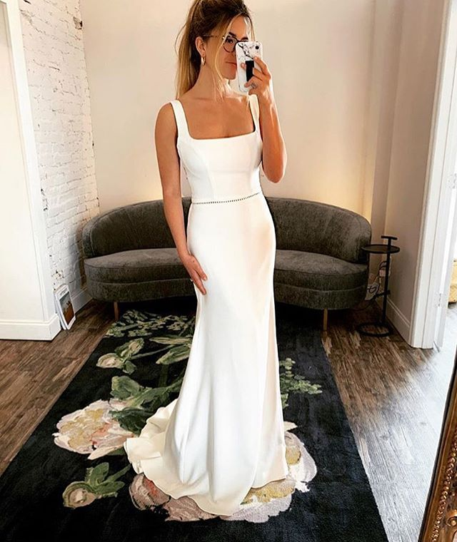 We love our Horizon gown 💞 so thankful @thedresstheory does too! Visit #scoutbridal at all 3 of there locations - Nashville. San Diego. Seattle.