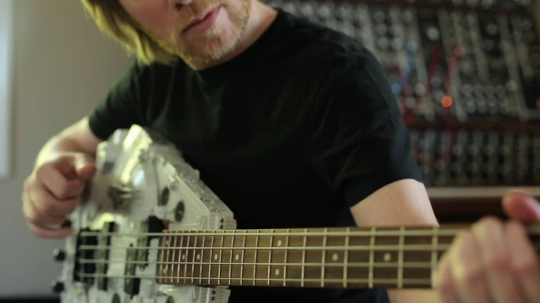 Bill in the studio October 2015
