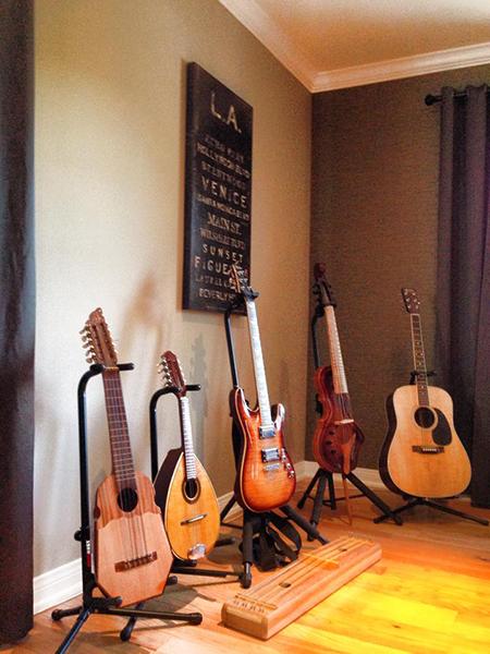 Bill's studio, October 2014