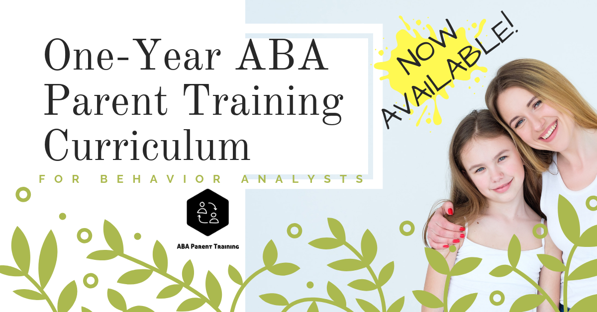 One-Year ABA Parent Training Curriculum ad image.png