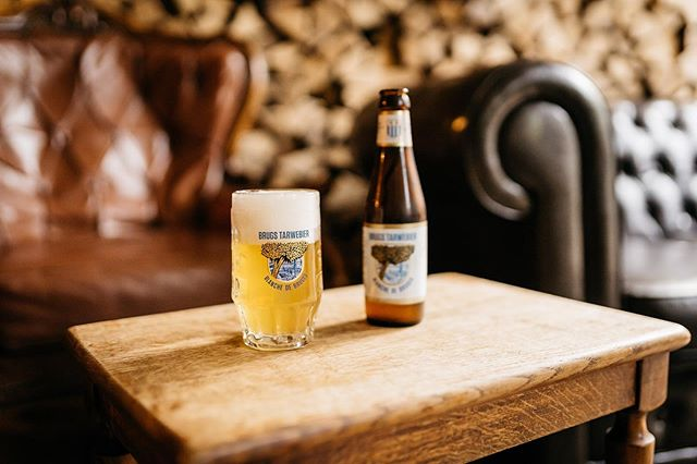 Couldn't help but enjoy this Wit beer from Brouwerij De Halve Maan – the Brugs Tarwebier. It was the perfect refresher when we stopped in the brewery during our tour of Bruges a few weeks back.