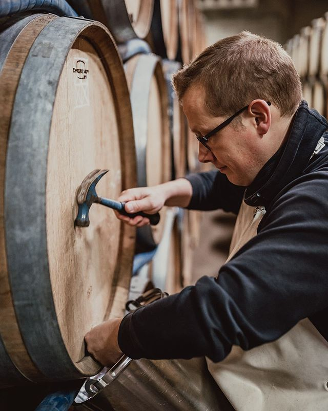 Tasting from the barrels with Pierre   @gueuzetilquin