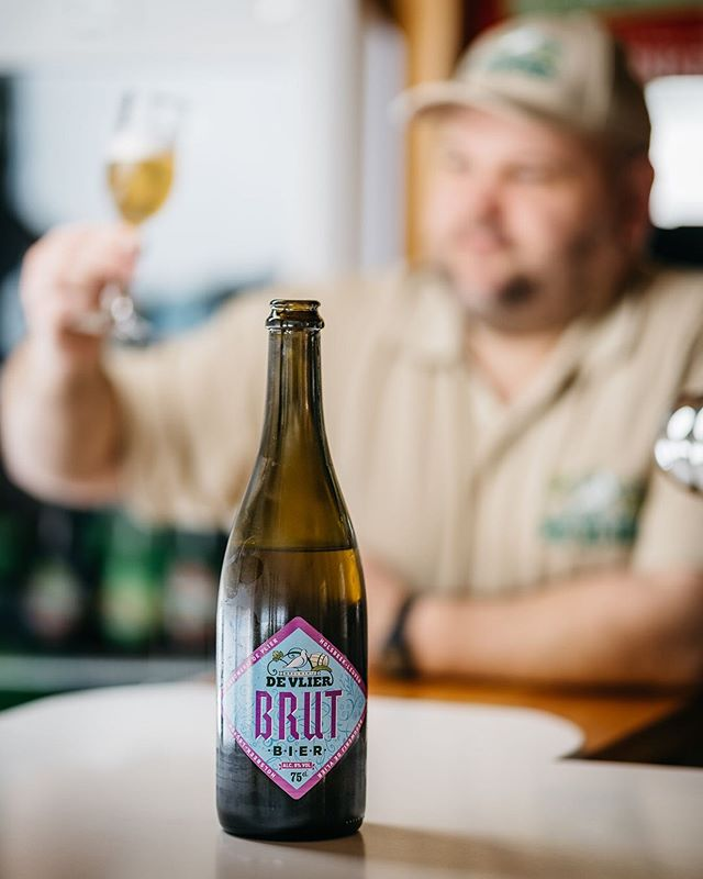 Perfect as an aperitif, Brut from Brouwerij De Vlier undergoes a secondary fermentation with champagne yeast giving the beer a full flavor with a fresh acidity. We were blown away by this beer when we visited Marc at his brewery in Holsbeek, and equally impressed the diverse range he is producing from his small production space.