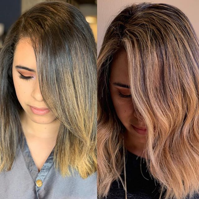 summer blonde by Bry 🌼 . . . . . . . #artistikedge #behindthechair #hairtutorial #balayage #hairbesties #allaboutdahair #licensedtocreate #americansalon #colourmelt  #hairgoals #dallashairstylist #dallashairsalon  #bestofhair #babylights  #hairpainting #dallas #btcpics #maneaddicts #samvilla