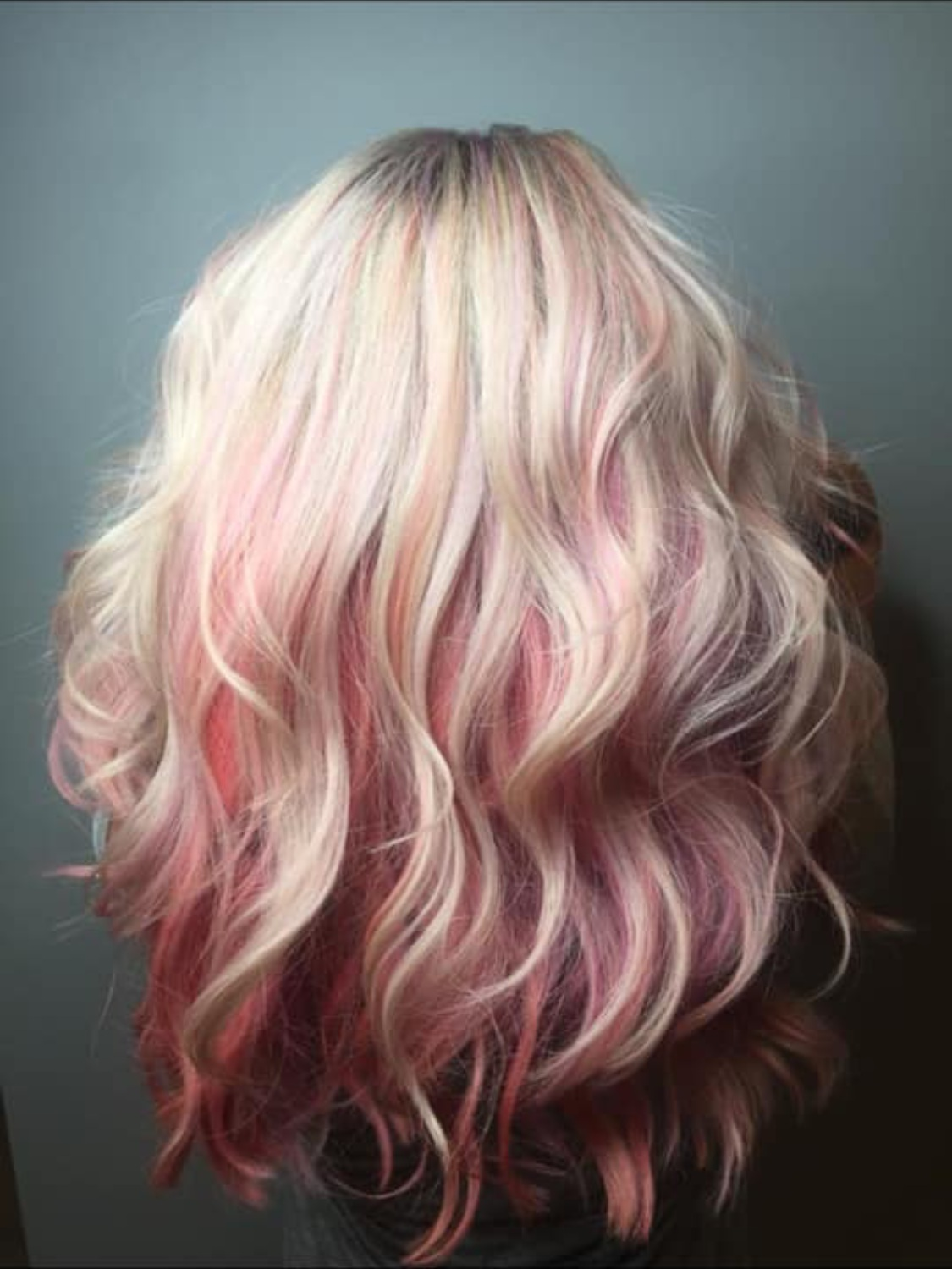 Rebecca Crosby Stylist Artistik Edge Hair Salon Lake Highlands Texas Pink Hair.png