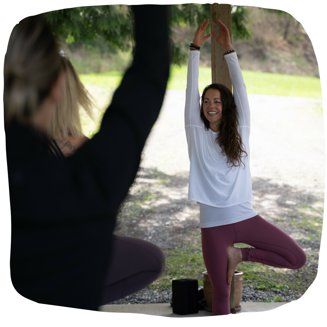 YOGA SCHEDULE - Drop-in group classes, private sessions and workshops. See my teaching schedule for classes in my outdoor yoga space.