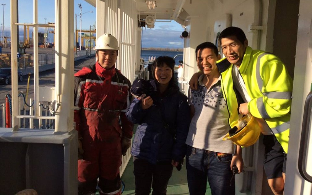Use all means in our power to better the conditions surrounding and affecting the seafarers, and be helpful to them in every possible way. -