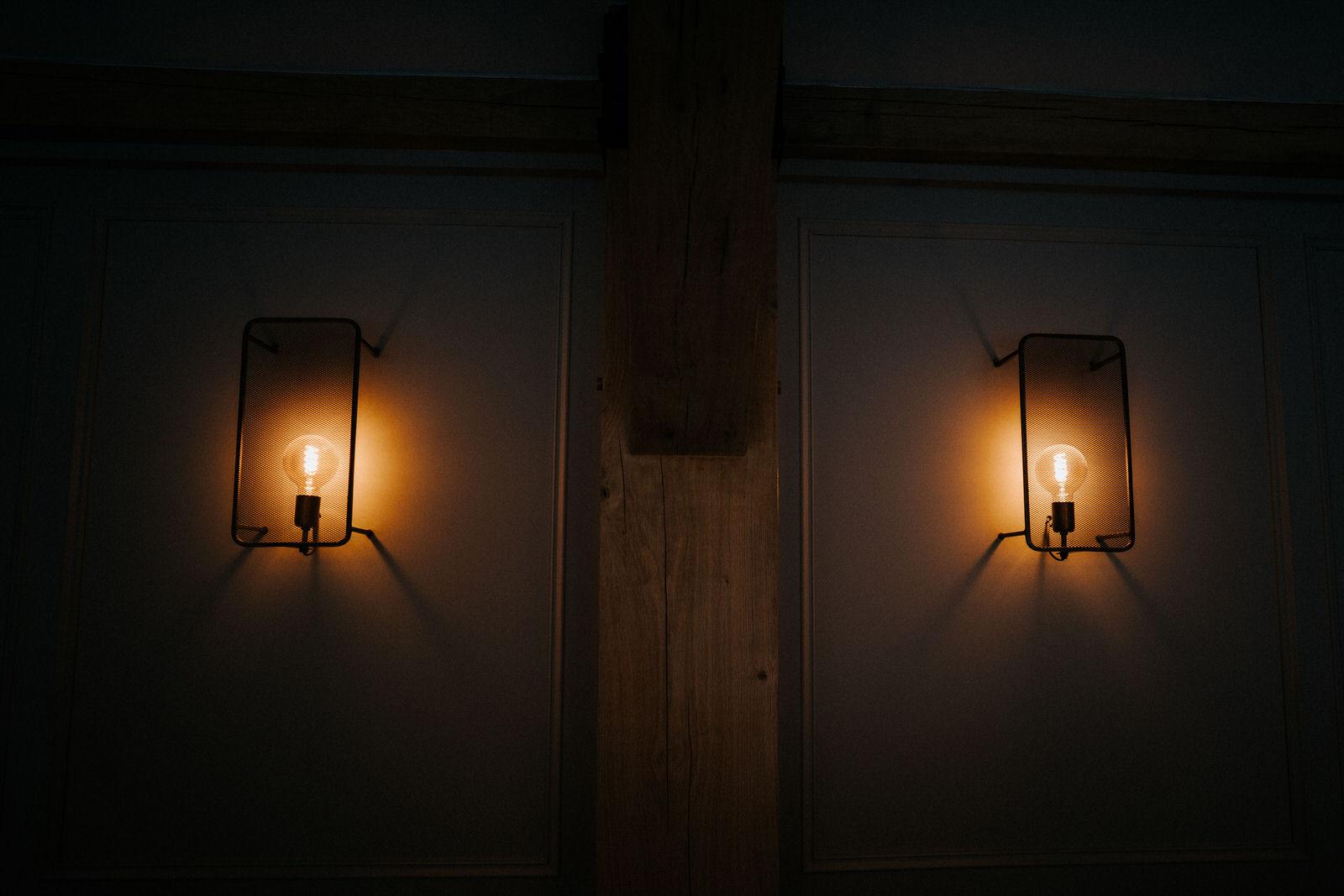 Room One Interior lights