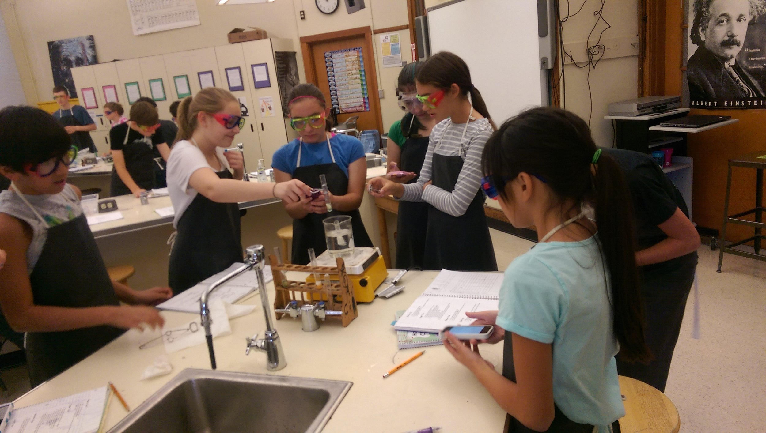 8th grade science lab