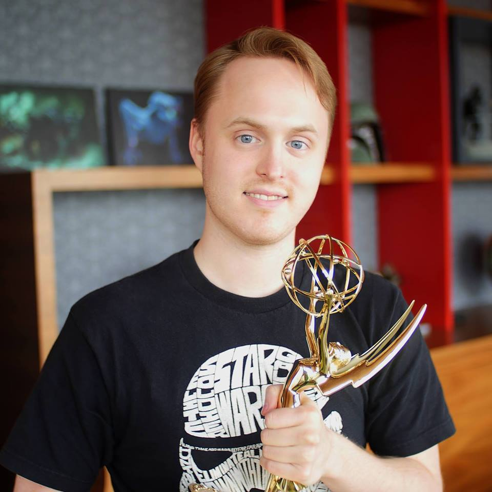 An Emmy winner - And yes, he worked on Star Wars! Way to go, Brandon!