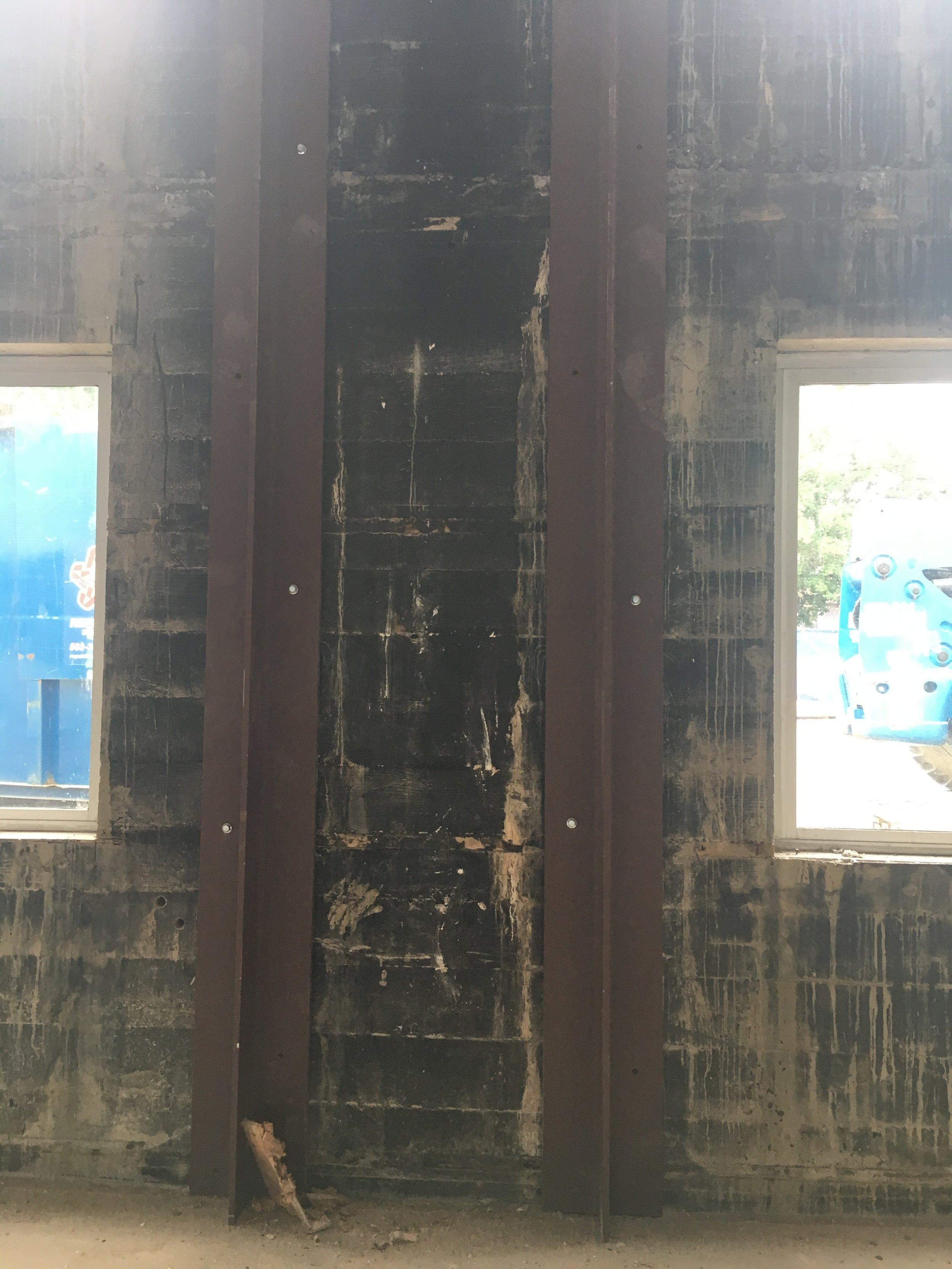 Seismic upgrade steel beams - June 19, 2019