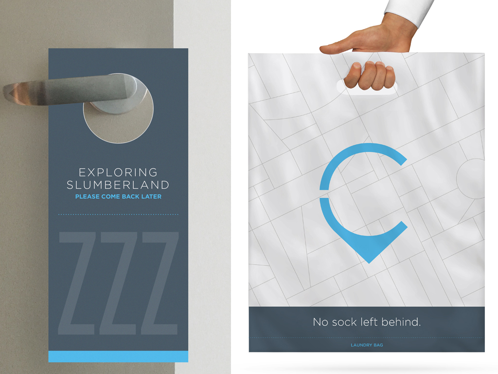 Design for in-hotel materials