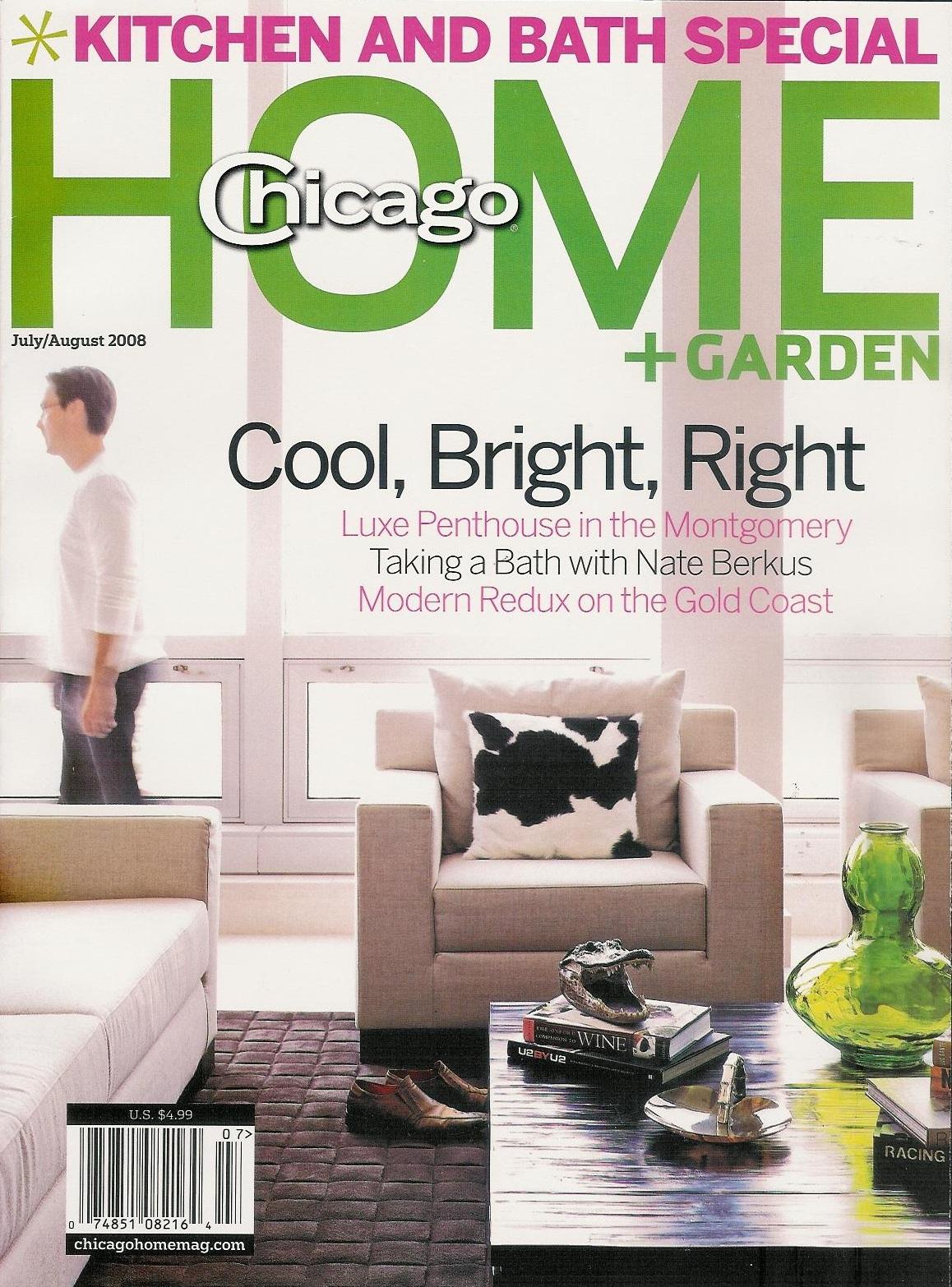 Chicago Home & Garden- July/August 2008