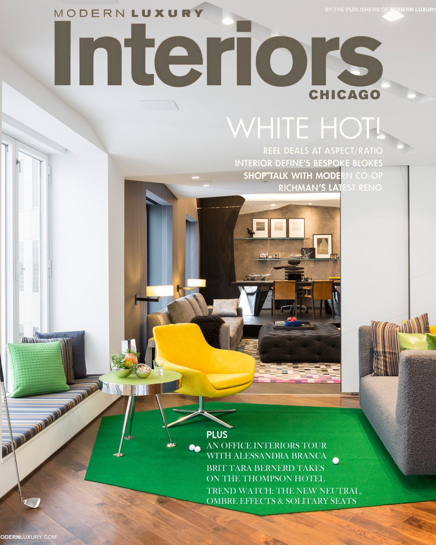 Modern Luxury Interiors- Winter 2014