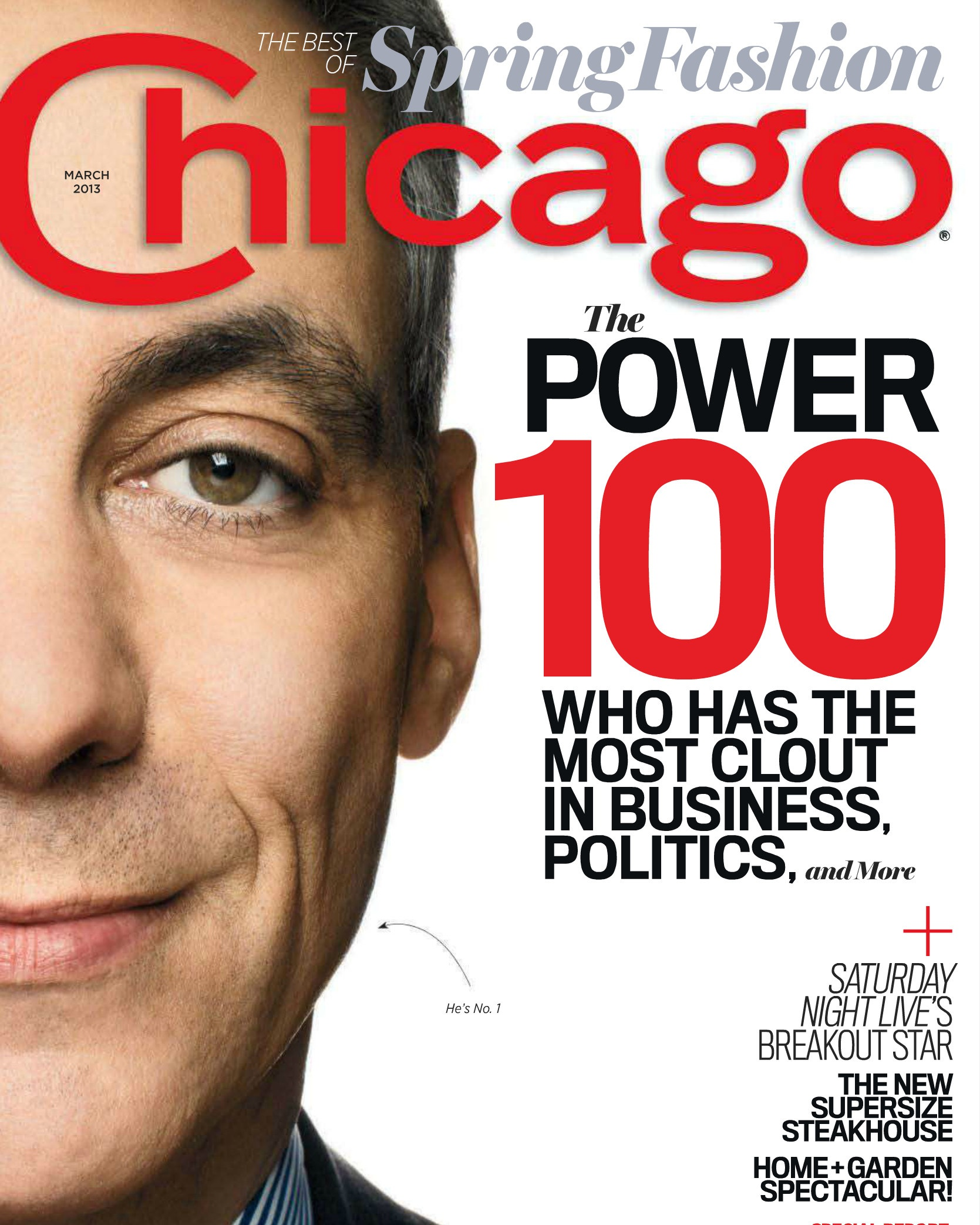Chicago Magazine- March 2013