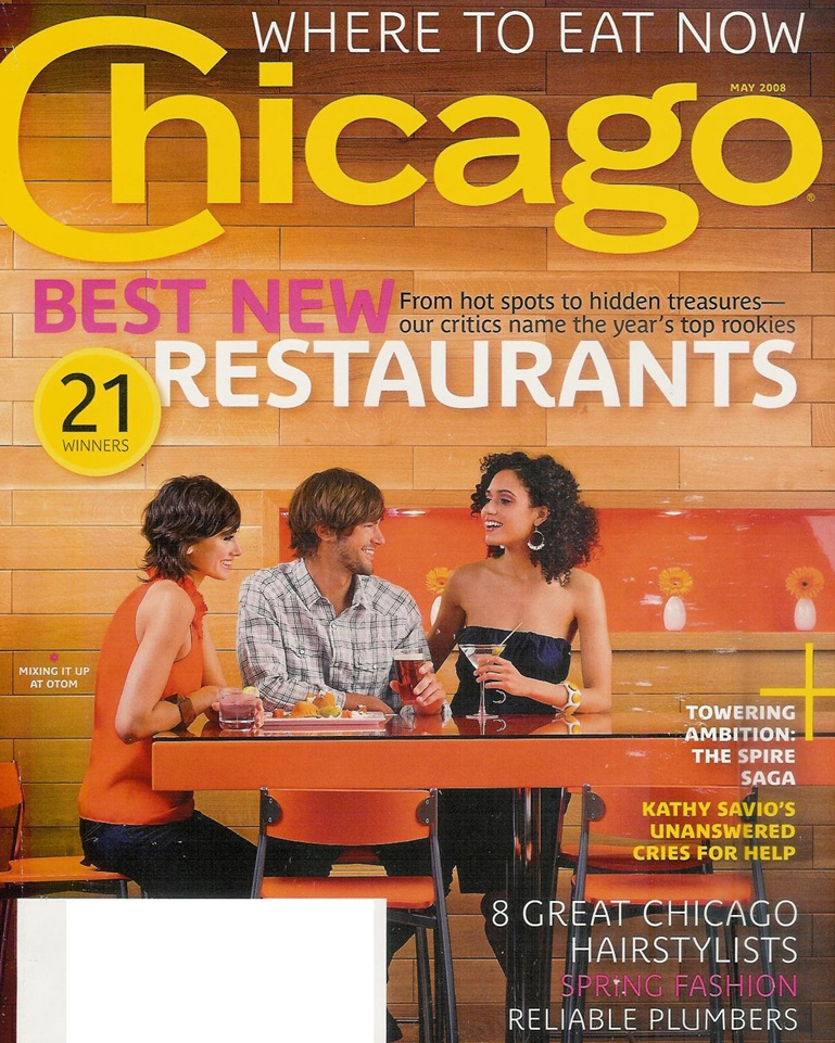 Chicago Magazine- May 2008