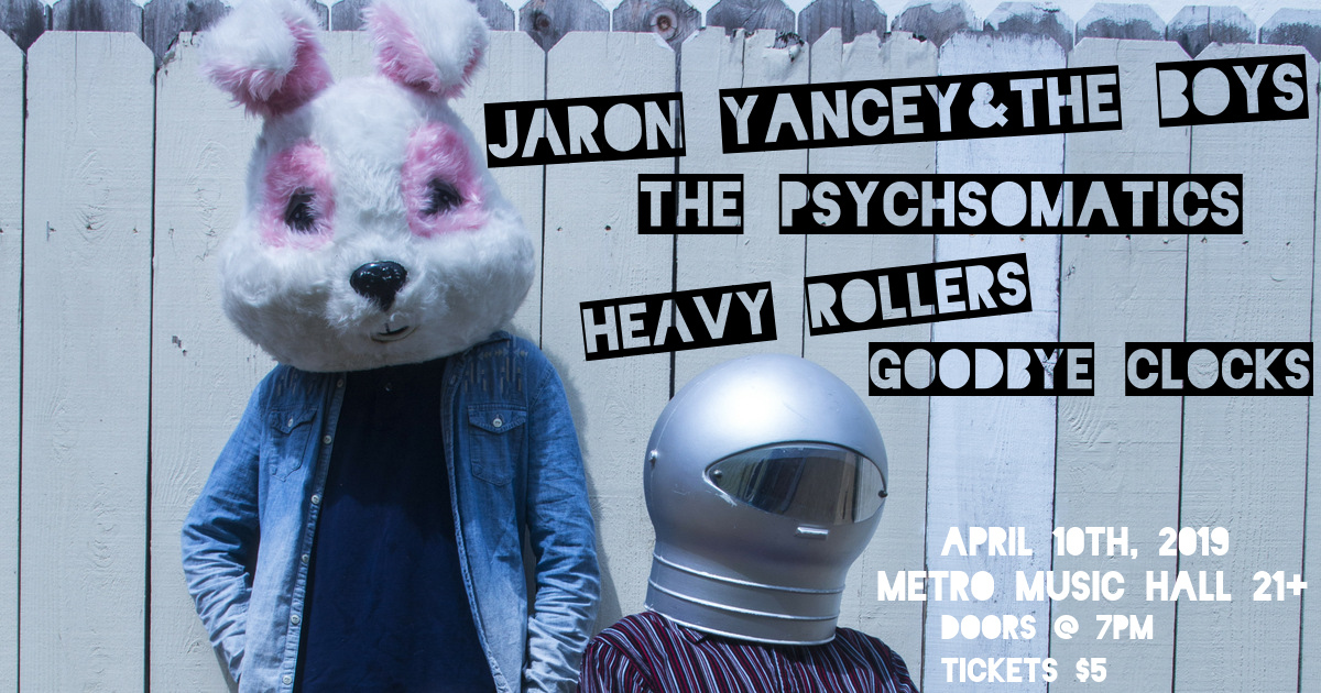 JARON YANCEY - 04-10-19Metro Music Hall