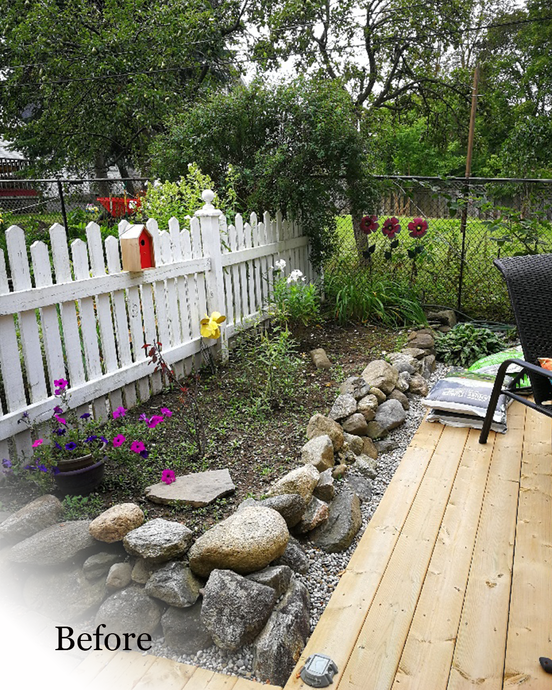 Revive, Refresh & Plant - We will prepare the soil, split and transplant perennials. We can also plant annuals, perennials, small shrubs and herb & vegetable gardens.