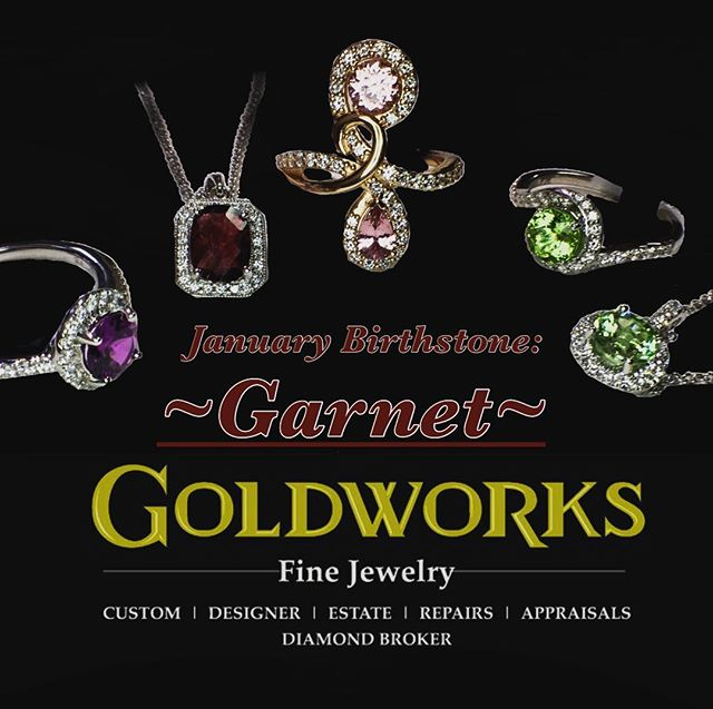 We have January's birthstone available in an extraordinary selection of colors!