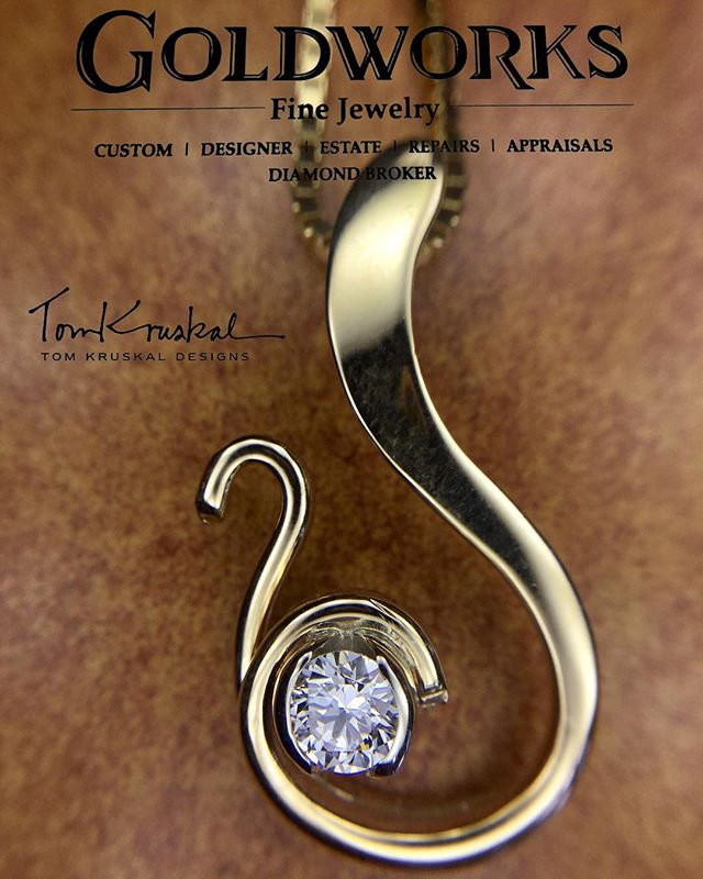 @tomkruskaldesigns #finejewelry #handcrafted #designerjewelry #giftideas #goldjewelry #diamondjewelry #fashion #hmb #halfmoonbay #coastside