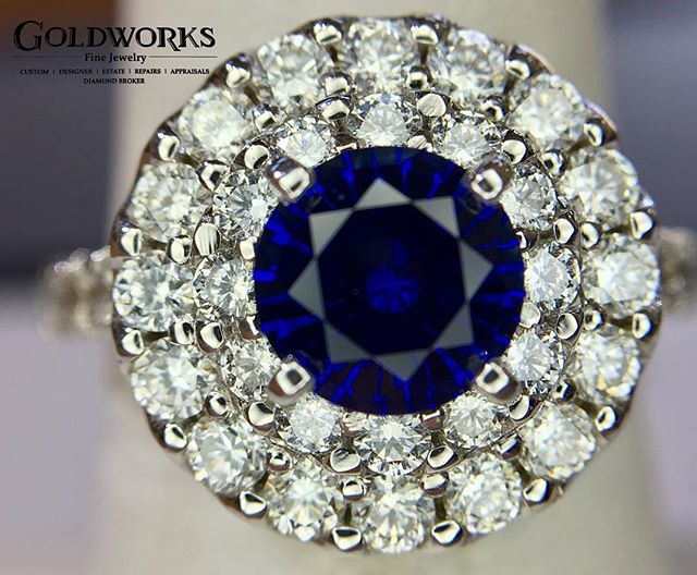 Throughout history people have associated sapphires with mystical powers; from curing blindness and protecting the wearer, to symbolizing nobility and faithfulness.
