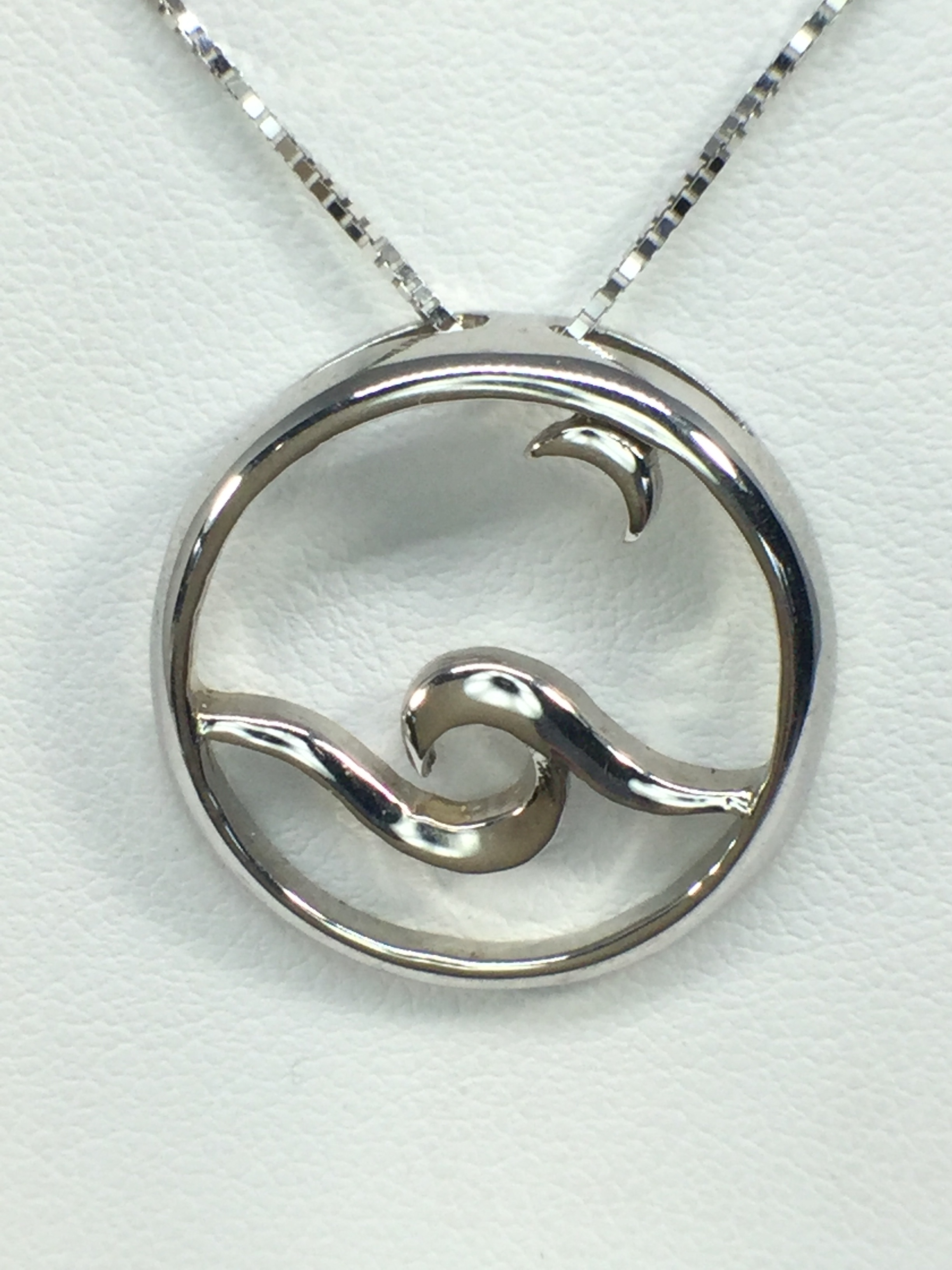 Sterling Silver Moonglow Pendant