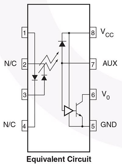 "MID400 ""AC Line Monitor Logic-Out Device"" image via  datasheet (pdf)"
