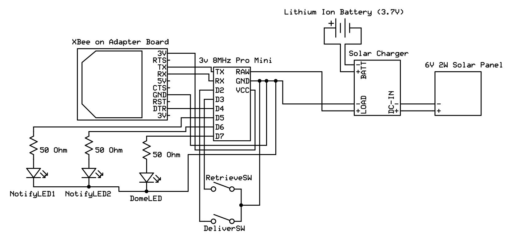 3v schematic