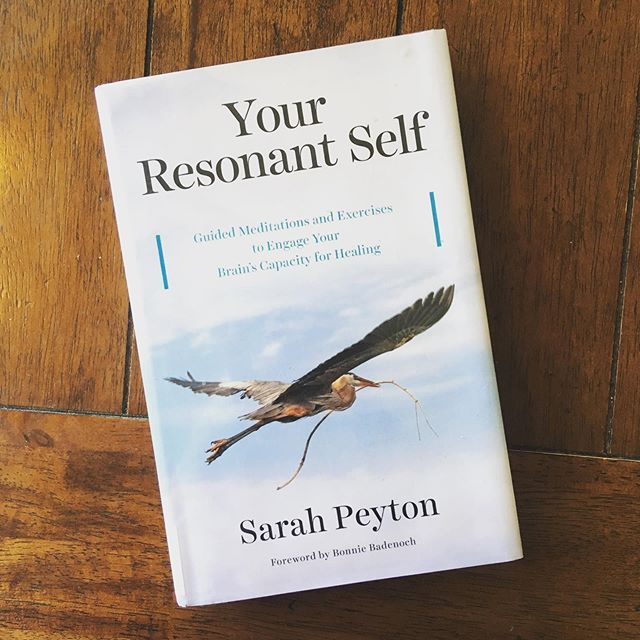 "I've been diving deep into Sarah Peyton's book, ""Your Resonant Self,"" which has quickly risen to my ""Top Therapy Books"" list. In this work, Sarah seamlessly integrates interpersonal neurobiology, attachment research, trauma treatment, and non-violent communication skills into a powerful method for healing and growth.  Weaving together stories, research and guided meditations, Sarah helps her readers transform their inner voice and cultivate a warmer relationship with themselves. She calls this the ""Resonating Self-Witness,"" which can both engage in emotional experiences and simultaneously hold and observe ourselves with kindness and acceptance. The result is a literal brain changer.  Sarah defines resonance as ""the experience of sensing that another being fully understands us and sees us with emotional warmth and generosity."" One of the primary tools she uses is the development of ""resonant language,"" which gives us the sense of joining with and being deeply understood. As Sarah wrote, ""The way people speak to themselves can lead to long-term support and well-being or to stress and lack of resilience. When people change the way they speak to themselves, they change the way their brain works."" . Compared to other neuroscience-heavy books, this one is remarkably easy to follow along. Sarah is skilled at simplifying complex understandings about the brain (with helpful graphics!) and other key psychological concepts, which makes this a rewarding read for both clinician and client alike.  It's no surprise to me that the teachings are not only theoretical, but arose from Sarah's own deep healing work; her sweetness and care can be felt on every page.  This method of developing a caring self-witness is not new (what is new under the sun?), and may remind you of many other therapeutic orientations and spiritual practices. But the synthesis of multiple disciplines and the explanation of relevant brain functions is unique. In the end, what works best is what most resonates with you.  I highly recommend this book to anyone seeking to heal their own pain, soothe their inner critic or understand themselves on a deeper level."