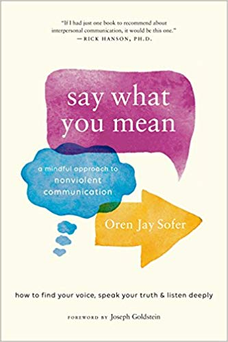 Say What You Mean Oren Jay Sofer Mindful Communication
