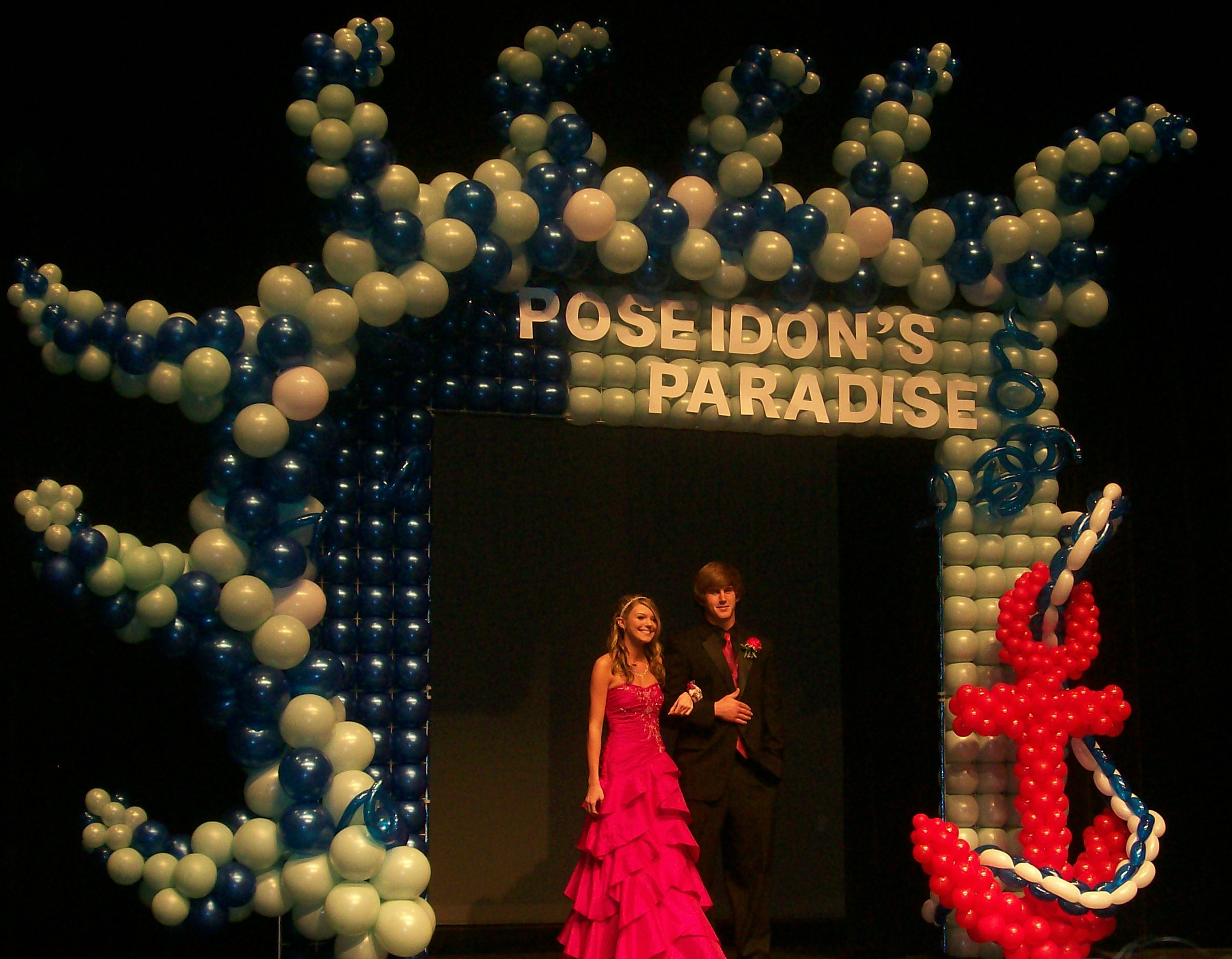 Prom Grand March Entrance