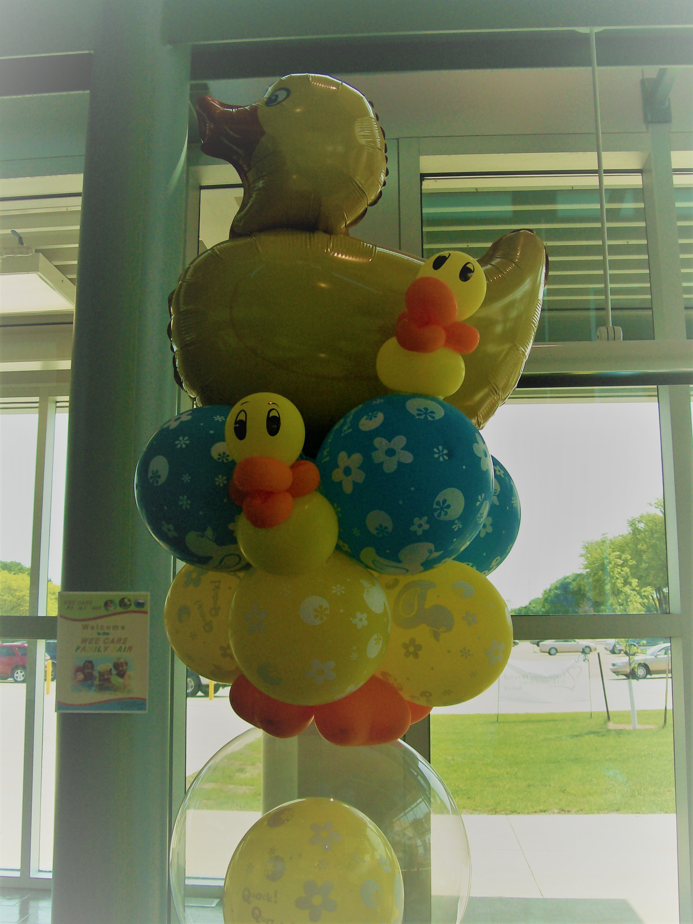 Baby Shower Balloon Duck