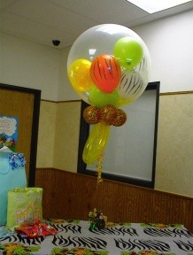 Giant Jungle Theme Pacifier Balloon