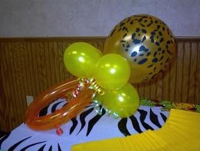 Cheetah Baby Pacifier Centerpiece
