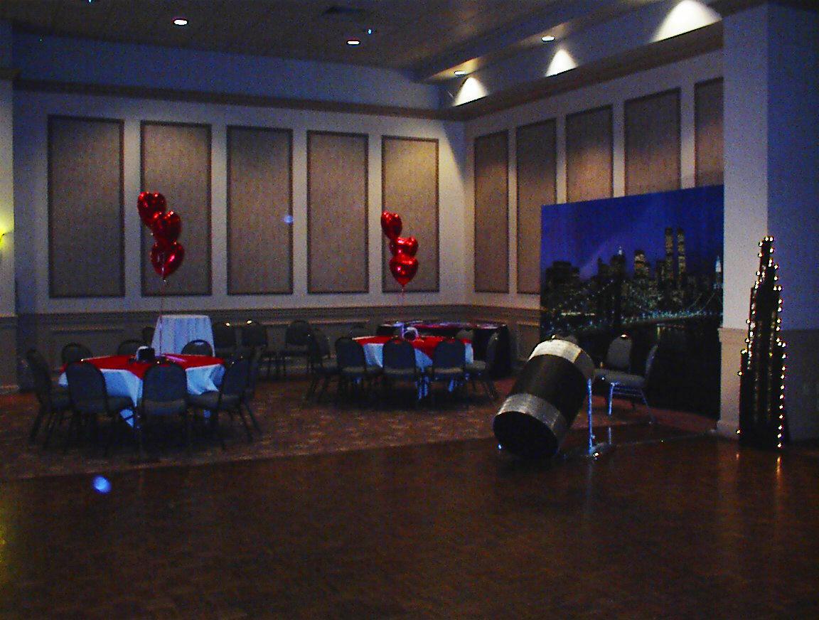 Helium Balloon Centerpieces