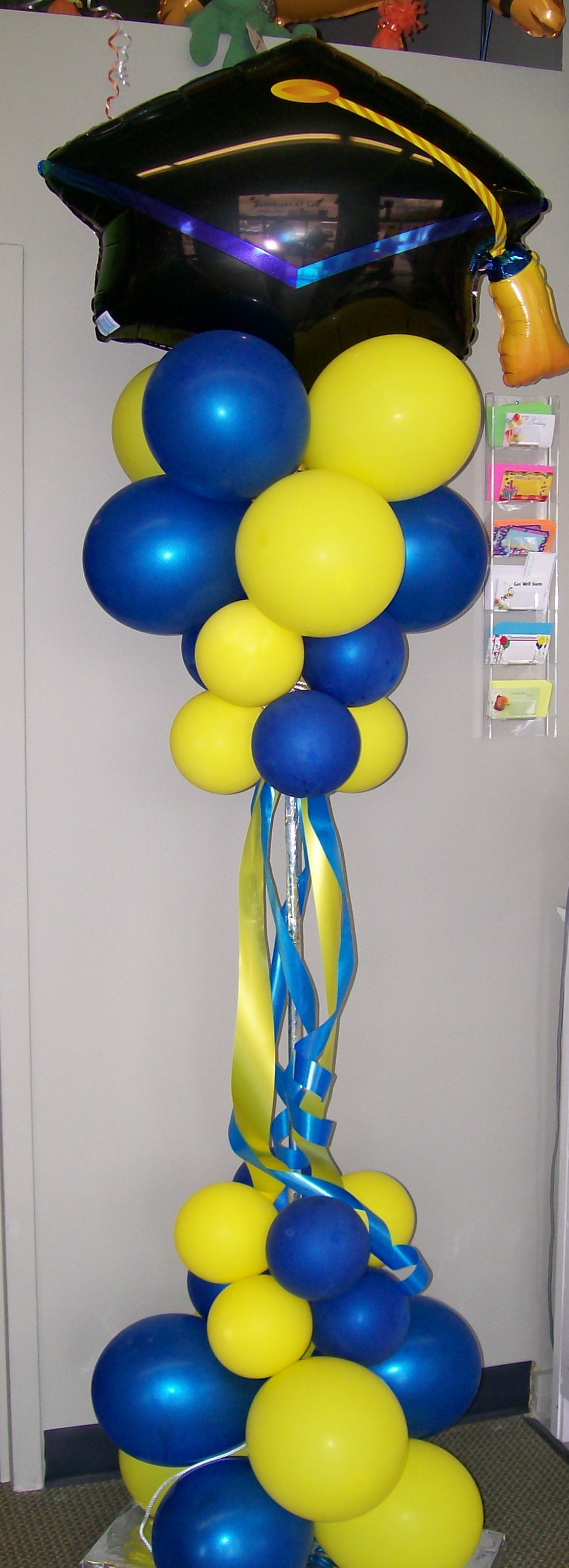 Graduation Balloon Column.JPG