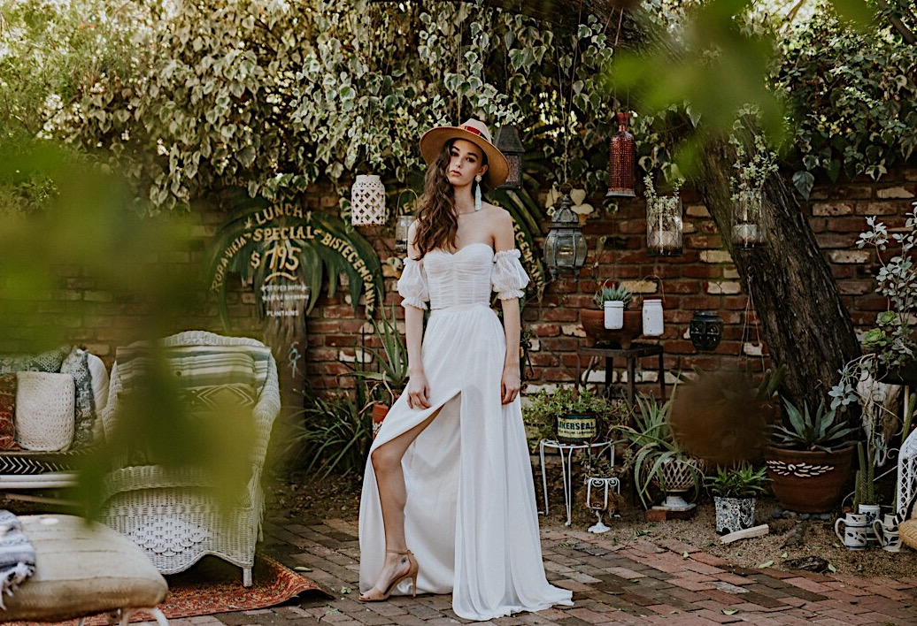 Shop the Victoria & Fitz designs… - A collection of wedding attire handmade from our shop, for the bride unafraid to express herself.