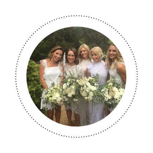 "Amanda - ""Thank you again for doing the most beautiful hair and make-up for my wedding! It was so perfect and I've already had so many people ask for your contact details."""