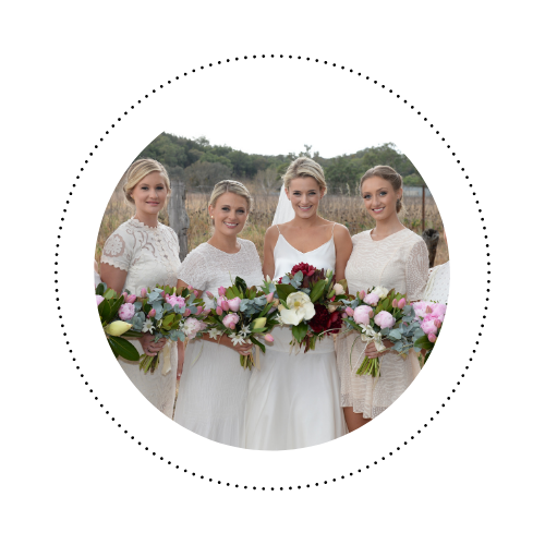 "Bonnie - ""Thank you for travelling to Mudgee and doing the most perfect makeup and hair for the special day."""