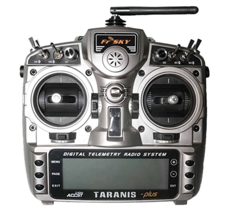 Taranis Plus - The controller of choice for most sim pilots. Can be used with your real drones as well as sim!Pro - Fully customizable gimbals, stick ends, software and voice!Con - Expensive for a beginner